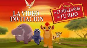 La Guardia Del Leon Invitacion Hablada Youtube
