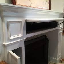 storage fireplace
