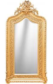 baroque mirror louis xvi style bicorne