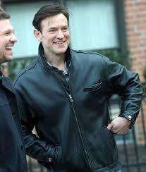 TV-series Dietland Dominic Dark Brown Leather Jacket