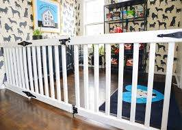 Diy An Extra Wide Gate Baby Room Diy Diy Baby Gate Diy Gate