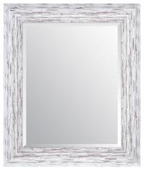 16 x20 distressed scoop framed beveled