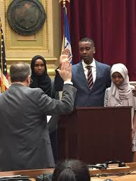"Keith Ellison on Twitter: ""Councilmember Abdi Warsame and family. Ready for  service.… """