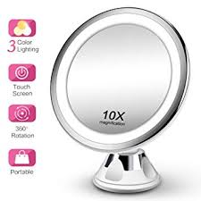 makeup mirror 10x magnifying
