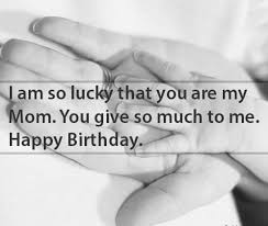 cute happy birthday mom quotes images