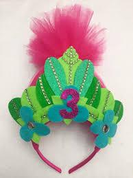 Pink Trolls Headband Trolls Crown First Birthday Crown Etsy