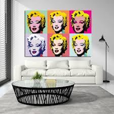 Marilyn Monroe Andy Warhol Pop Art Print Gallery Wallrus Free Worldwide Shipping