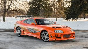 2001 toyota supra the fast and the