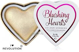 makeup i heart glowing hearts