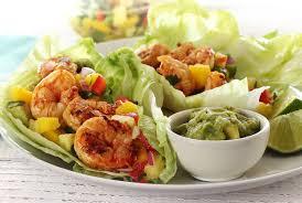 Paleo Spicy Grilled Shrimp Wraps Recipe ...