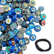 300 PCS Polymer Clay Disc Beads for Jewe- Buy Online in China at Desertcart
