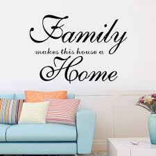 Family Makes This House A Home Wall Decal Vinyl Wall Art Sticker Living Room Bedroom Home Decor 8417free Shipping Home Decor Wall Art Stickersvinyl Wall Aliexpress