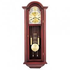 chiming pendulum wall clock bulova