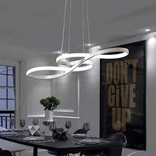 led pendant light dining table hanging
