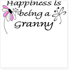 Amazon Com Cafepress Happiness Is Being A Granny Square Sticker Square Bumper Sticker Car Decal 3 X3 Small Or 5 X5 Large Home Kitchen