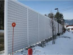 Perforated Metal Sound Barriers Road Noise Barrier Walls Soundproof Screen Fence For Sale Perforated Metal Screen Manufacturer From China 105319629