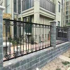 China Cast Iron Fence Metal Fence Steel Fence Design China Rail Steel Fence