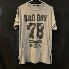 fl t shirt mens sz l grey badboy