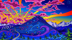 trippy art backgrounds group