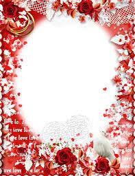 love frame transpa background