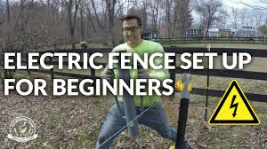 How To Set Up Your Electric Fence Keep The Bears Out Of Your Bees Youtube