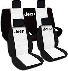 jk jeep logo seat covers full set 21