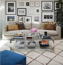 how to style a coffee table interior