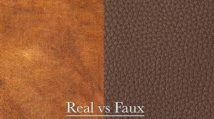how to tell if your leather is real