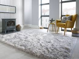 faux fur gy rug collection flair rugs
