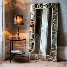 verbier gold 158x80cm leaner mirror