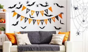 Imountek 28 Halloween Bats 3d Decor Party Supplies Wall Decal Bat Sticker Groupon