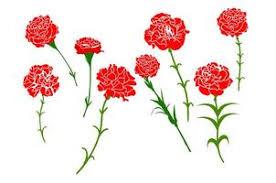red flower free vector art 76 672