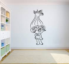 Amazon Com Poppy Wall Art Trolls Wall Vinyl Decal Home Interior Sticker Kid Room Graphic Child Bedroom Applique Trolls2 Kitchen Dining