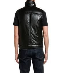tom ford men s leather vest with