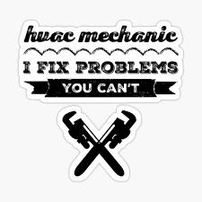 Hvac Technician Stickers Redbubble