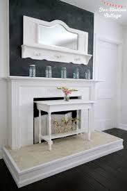 15 homey diy fireplace mantels