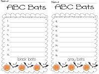 ABC Bats - Classroom Freebies