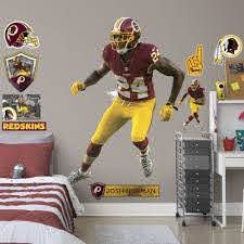 Josh Norman Life Size Officially Licensed Nfl Removable Wall Decal Removable Wall Decals Removable Wall Josh Norman