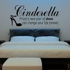 Cinderella Wall Sticker Proof A New Pair Buy Online In Guernsey At Desertcart