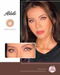 👁 Adele Brown - 14.5mm 🌖 Sắc nâu cuốn... - Stella Contact Lens ...
