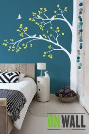 Large Tree Nature Vinyl Wall Tree Decal Nursery Wall Decals Etsy Tree Wall Decal Living Room Bedroom Paint Design Bedroom Wall Paint