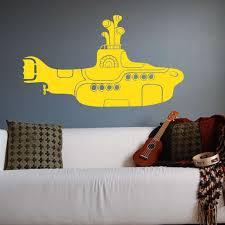 The Beatles Yellow Submarine Wall Decal Vinyl Art Stickers Wall Decals Vinyl Wall Decals