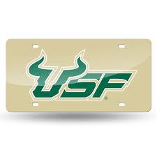 Rico Ncaa South Florida Bulls Usf Acrylic Laser Tag Sportzzone