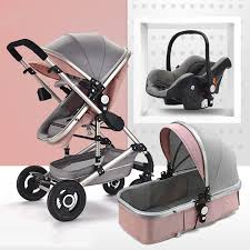 baby stroller 3 in 1 pram with car seat