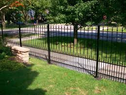 China Decorative Ornamental Galvanized Steel Wrought Iron And Aliminum Material Tubular Picket Fence For Garden Pool China Garden Fence And Garden Fence Panel Price