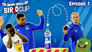 Angry Birds - BirLd Cup | Bottle Flip Challenge - Ep.1 - YouTube