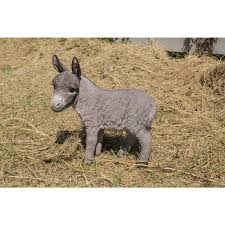 hi line gift standing donkey statue