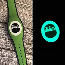 Amazon Com Vinyl Skin Decal Wrap Sticker Cover For The Magicband 2 Magic Band Glow In The Dark Ghosts Scary House Halloween Buggy Handmade