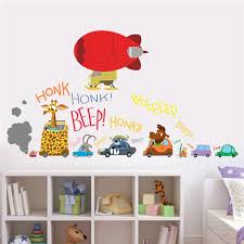 Zootopia Movie Wall Stickers For Kids Room Kids Room Wall Decals Children Room Boy Wall Stickers Bedroom