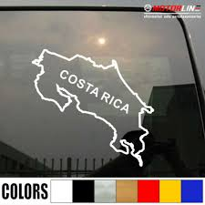 Car Truck Graphics Decals Auto Parts And Vehicles Costa Rica Map Decal Sticker Car Vinyl Pick Size Color Die Cut No Bkgrd Megeriancarpet Am